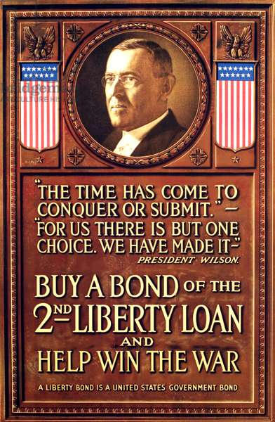 Buy a Bond of the 2nd Liberty Loan and Help Win the War, c.1917 (poster)