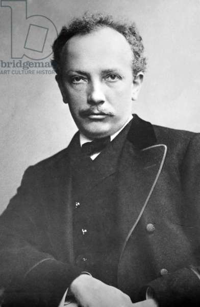 Richard Strauss (1864-1949), German musician of the modern era, composed expressive work built on the previous Romantic style. 1905