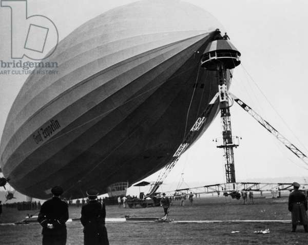 The LZ 129 Graf Zeppelin, c.1938