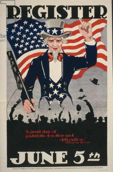 Register June 5th, 1917 (poster)