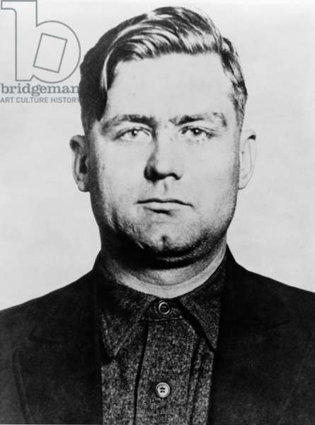 George 'Bugs' Moran 1891-1957 Chicago Gangster and Polish-Irish the boss of the North Side Gang a rival of Al Capone's mob. Capone killed 6 members of Moran's gang at the 1929 St. Valentine's Day Massacre