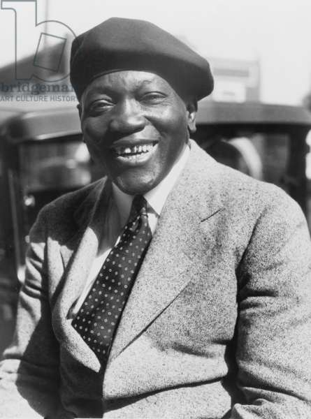 Jack Johnson (1878-1946), former Heavyweight Championship of the World in 1931
