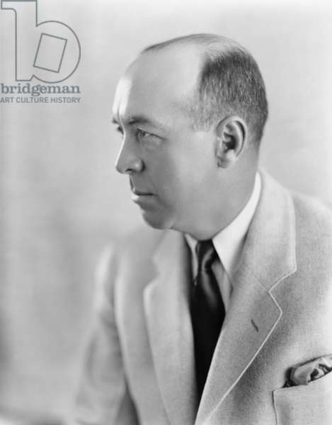 Edgar Rice Burroughs (1875-1950), American author and creator of Tarzan stories, moved to Hollywood in 1919 to collaborate in the production of Tarzan movies