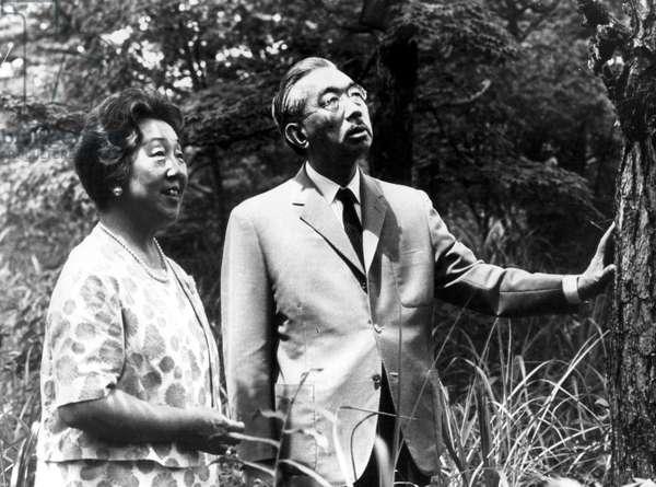 EMPRESS NAGAKO and EMPEROR HIROHITO, c. early 1960s