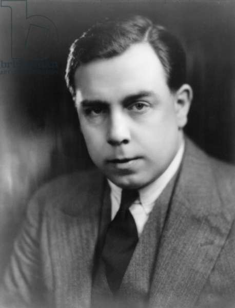 John Boynton Priestley (1894-1984) British novelist and playwright, and author of over one hundred books