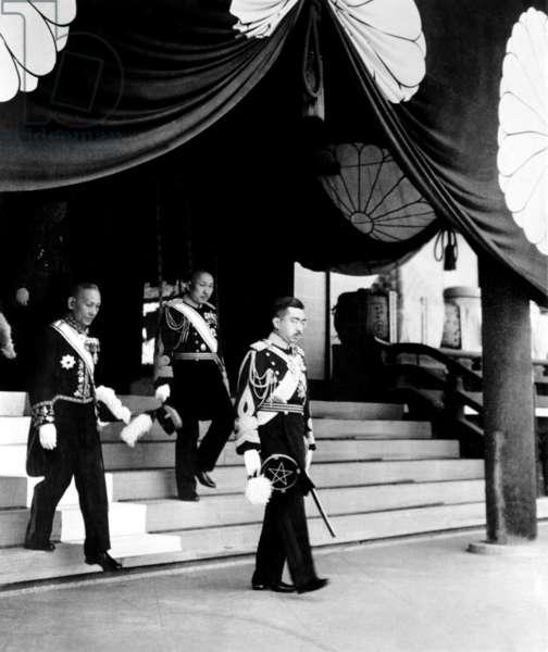 Japanese Emperor Hirohito, 1940s