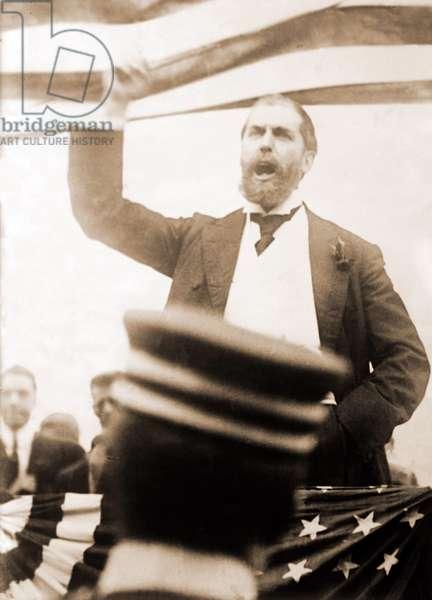 Charles Evans Hughes (1862-1948), ran a close race against Woodrow Wilson in 1916