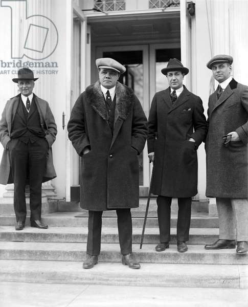 Babe Ruth at the White House, 1921