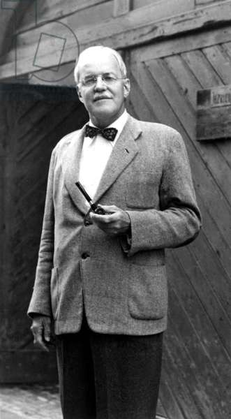 Allen Dulles, one-time director of the CIA, in a 1966 portrait.