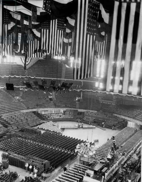 Chicago Stadium interior, Chicago, Illinois, c.1932