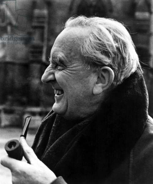 J.R.R. TOLKIEN, c.1981, Author of The Hobbit, and The Lord Of The Rings. Image courtesy of