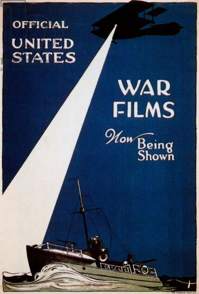 Official United States War Films, Now Being Shown, 1916 (poster)
