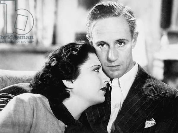 BRITISH AGENT, from left: Kay Francis, Leslie Howard, 1934