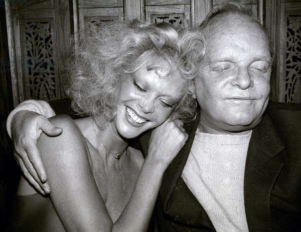 Monique Van Vooren Truman Capote, 1978 (photo)