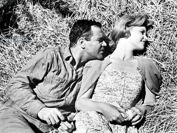 DAYS OF WINE AND ROSES, from left, Jack Lemmon, Lee Remick, 1962