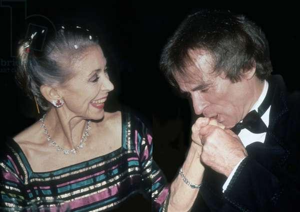 Dame Margot Fontaine Rudolph Nureyev, 1992 (photo)