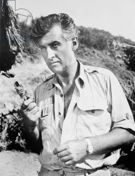 GREEN FIRE, Stewart Granger, 1954