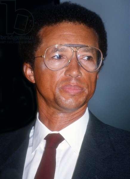 Arthur Ashe circa, 1980s (photo)
