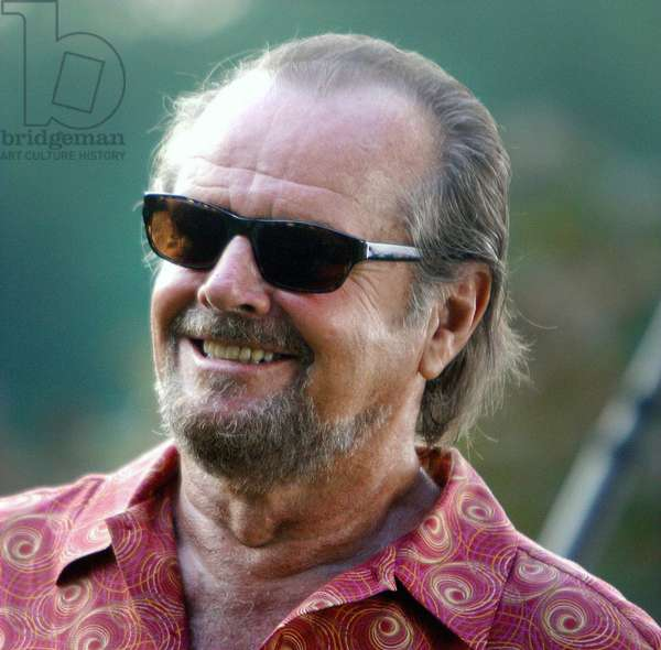 Jack Nicholson, 2002 on Location Filming The Movie