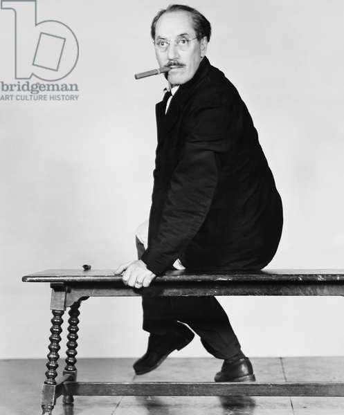 DOUBLE DYNAMITE, Groucho Marx, 1951
