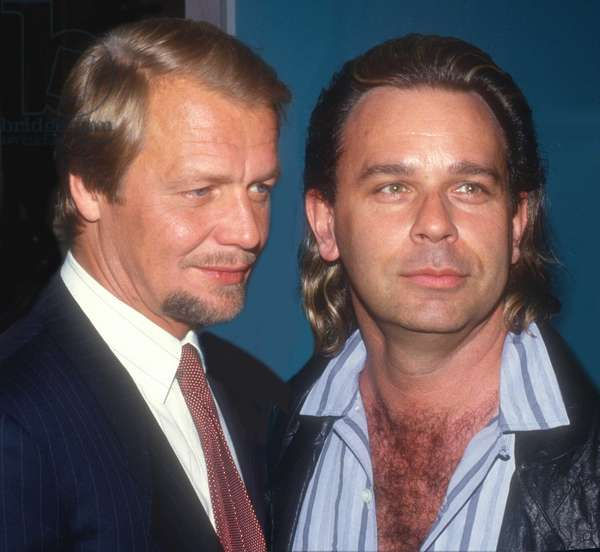 David Soul and Lou Christie, 1985 (photo)