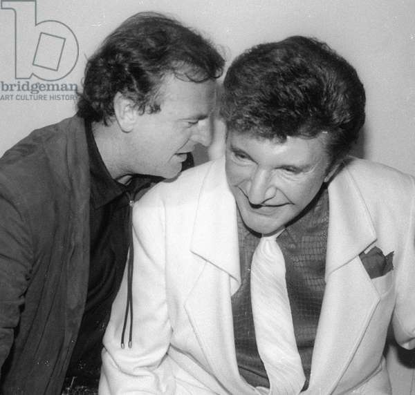 Peter Allen and Liberace, 1987 (photo)