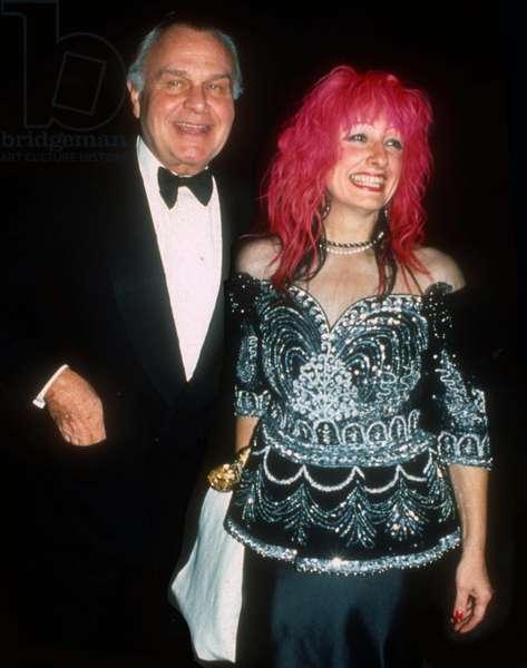 Bill Blass Zandra Rhodes, 1988 (photo)