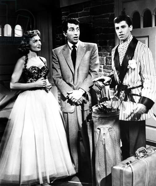 THE CADDY, from left, Donna Reed, Dean Martin, Jerry Lewis, 1953
