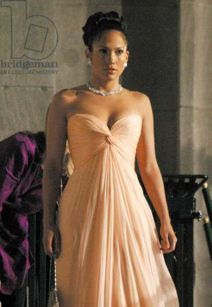Jennifer Lopez Ralph Feinnes filming
