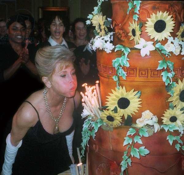 Jane Fonda 60th birthday, 1997 (photo)