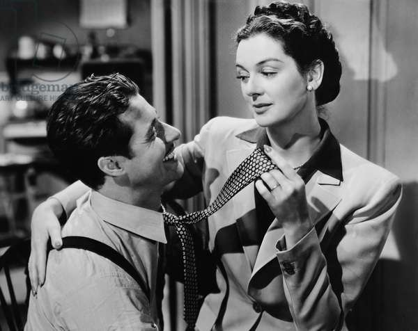 THE FEMININE TOUCH, from left: Don Ameche, Rosalind Russell, 1941