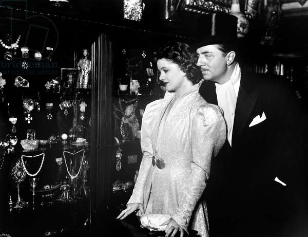 AFTER THE THIN MAN, from left, Myrna Loy, William Powell, 1936