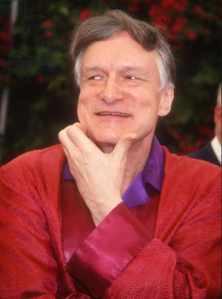 Hugh Hefner, 1992 (photo)