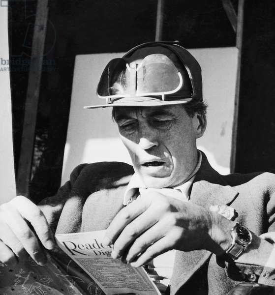 BEAT THE DEVIL, director John Huston on set, 1953