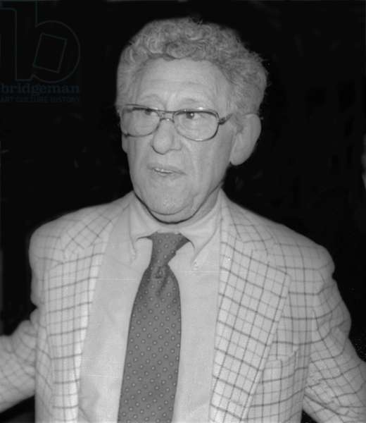 Jack Gilford, 1980 (photo)