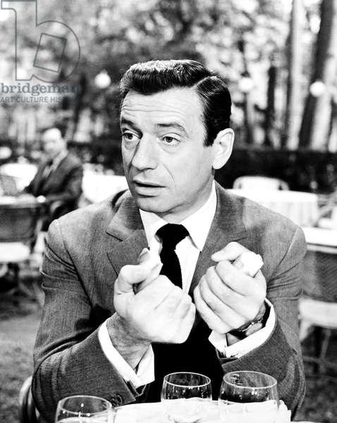 GOODBYE AGAIN, Yves Montand, 1961