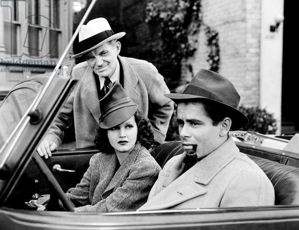 BABIES FOR SALE, from left: Miles Mander, Rochelle Hudson, Glenn Ford, 1940