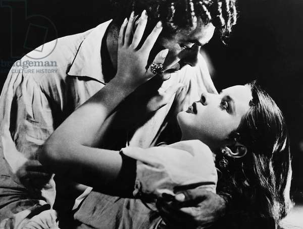 CAPTAIN FROM CASTILE, from left: Tyrone Power, Jean Peters, 1947