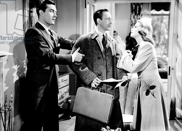 ARE HUSBANDS NECESSARY?, from left, Ray Milland, Charles Lane, Betty Field, 1942