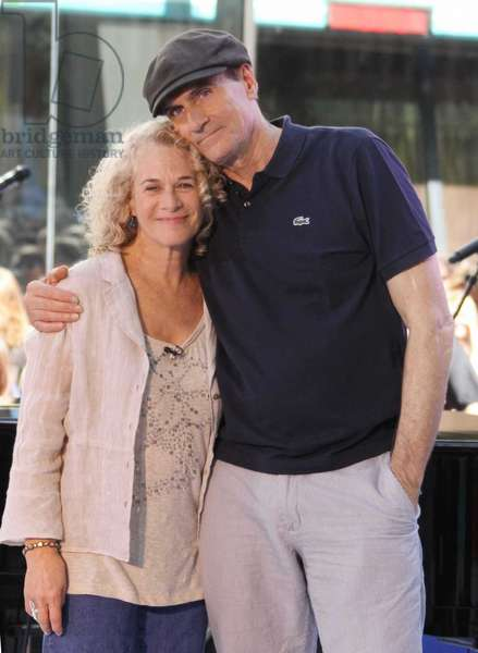 James Taylor & Carole King, 2010 (photo)