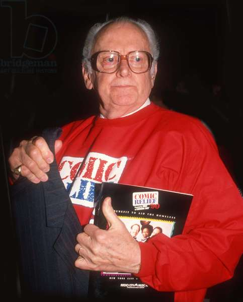 Art Carney, 1990 (photo)