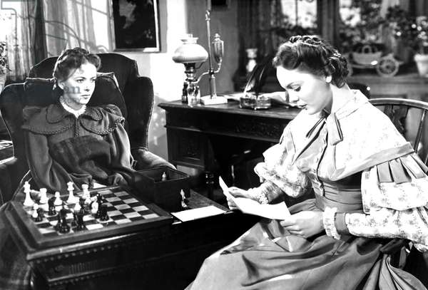 DEVOTION, from left, Ida Lupino, Nancy Coleman, 1946