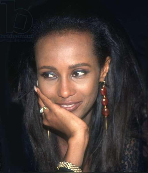 Iman, 1990 (photo)