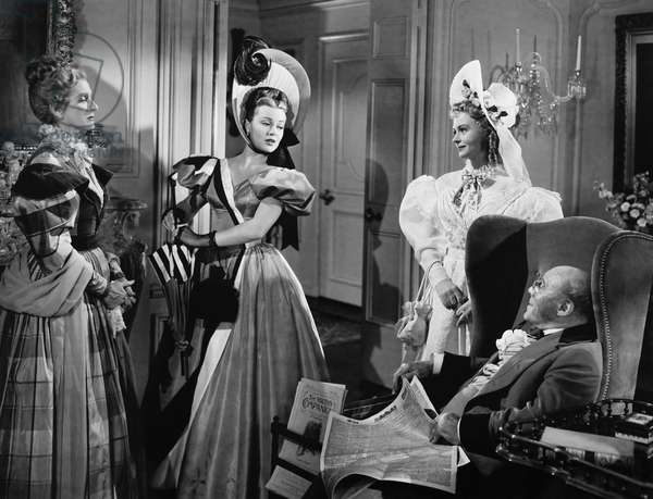 GREEN DOLPHIN STREET, from left: Gladys Cooper, Lana Turner, Donna Reed, Edmund Gwenn, 1947