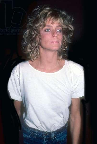 Farrah Fawcett, 1985 (photo)