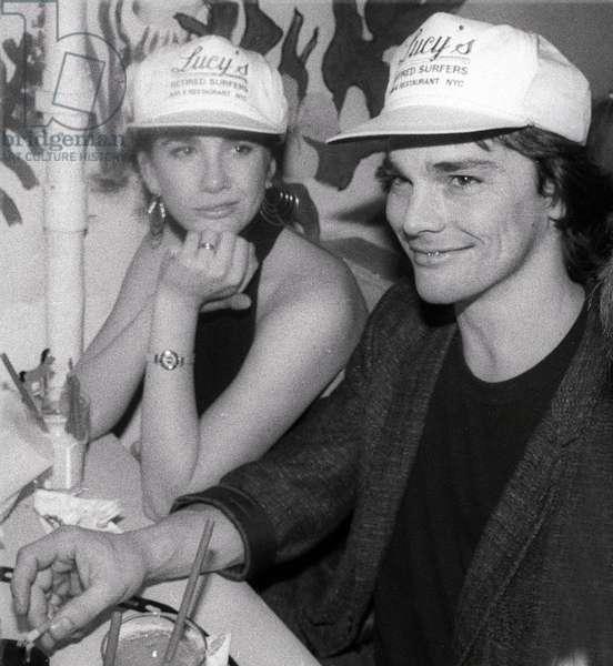 Melissa Gilbert and husband Bo Brinkman, 1988. (photo)