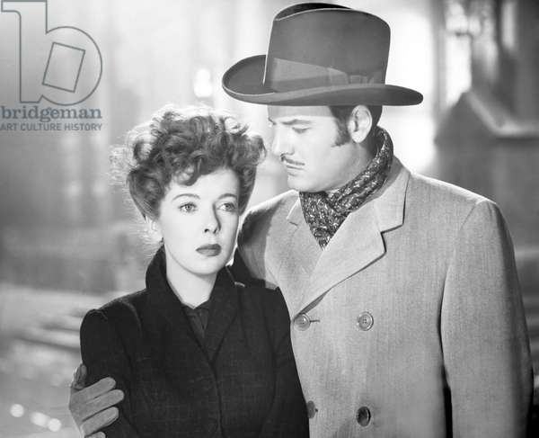 ESCAPE ME NEVER, from left, Ida Lupino, Gig Young, 1947