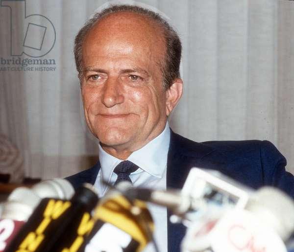 Claus Von Bulow, 1985 (photo)