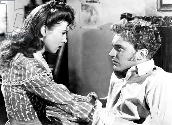 DEVOTION, from left, Ida Lupino, Arthur Kennedy, 1946