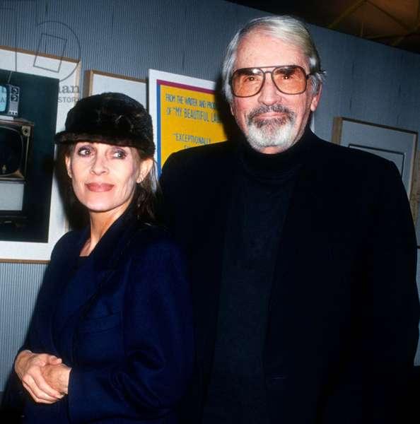 Gregory Peck & wife Veronique Peck, 1993 (photo)